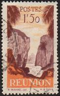 Réunion Obl. N° 270 - Détail De La Série émise En 1947 - 1f50 Orange Et Brun-lilas - Oblitérés