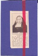 Orig. Knipsel Coupure Tijdschrift Magazine - Roosendaal - Overste E. Zuster Maria Vincentia, E. Evens Uit Meeuwen - 1917 - Non Classés