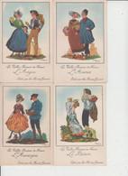 LES VIEILLES PROVINCES DE FRANCE  -  LES FARINES JAMMET  -  LOT DE 16 CARTES  - - 5 - 99 Postcards