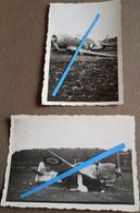 1939 1940 Bloch 152 155 No 72 Crash Accident Chasseur Français Aviation Chasse Dassault France WW2 39-40 Photo - War, Military