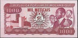 MOZAMBIQUE  UNC  1000 ESCUDOS  1989  P132C - Mozambique