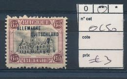 BELGIUM COB OC50 MNH - [OC38/54] Belg. Besatzung In D.