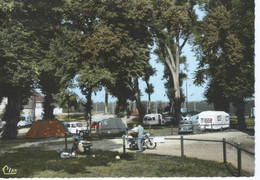 CPSM - 52 - LANGRES - Terrain De Camping - Moto - 1968 - TBE - - Langres