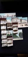 Lot 4 CP 13 MARSEILLE Carte Système Mini Vues Dépliant Lonchamp Palaceporte D'Aix Prado Tramway Grand Hotel Beauvau - Sonstige