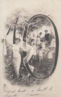 Carte Fantaisie Musterschutz Chiffre 8 Femme Enfants - Altri