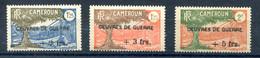 Cameroun France Libre - Yvert 233 à 235 - Maury 2+2 à 193 - Neuf XXX Gomme Coloniale Jaunie - T 1062 Haut - Nuevos