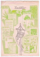 GIRONDE - BORDEAUX - GESTETNER - Machine à Ecrire, Catalogues, Vignettes, Etc...33 Rue Esprit Des Lois - Publicités