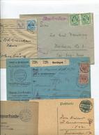 8627) 10 Belege Gesamtdeutschland - Affrancature Meccaniche Rosse (EMA)