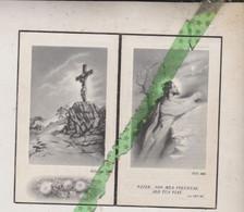August Beyaert-Vande Casteele-Van Lancker, Dikkelvenne 1893, Leuven 1955. Rijkswachter O.r. Oud-strijder 14-18, 40-45 - Décès
