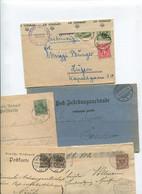 8507) 10 Belege Gesamtdeutschland - Affrancature Meccaniche Rosse (EMA)