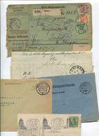 8604) 10 Belege Gesamtdeutschland - Affrancature Meccaniche Rosse (EMA)