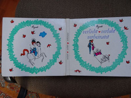 Rare Et Très Beau Livre Illustré Par Raymond Peynet Verliebt Verlobt Verbeiratet Allemand - Kunstführer