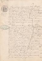 VP 1 FEUILLE - 1863 - JUGEMENT - VANNES - Manoscritti