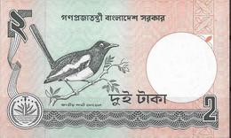 BANGLADESH  UNC  2 TAKAS  1989 - Bangladesh