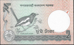 BANGLADESH  UNC  2 TAKAS  2004 - Bangladesh