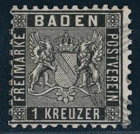 Baden Michel Nummer 13a Gestempelt - Baden