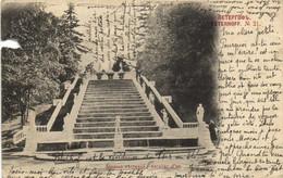 Péterhof Escalier D'or  Pionnière  RV - Russie