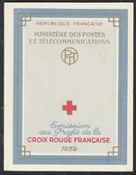 FRANKREICH 1270-1271, Markenheftchen Rotes Kreuz, Postfrisch **, 1959, Persönlichkeiten - Croix Rouge