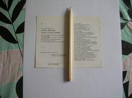 Anna Bovijn (Beveren-Oudenaarde 1908 - Kortrijk 1980);Coopman - Santini