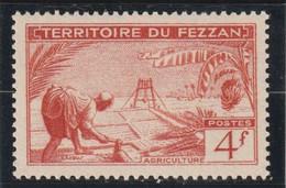 TIMBRE DE FEZZAN  Agriculture  N° 59** - Ongebruikt
