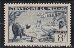TIMBRE DE FEZZAN  Agriculture  N° 61** - Ongebruikt