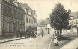 BRETEUIL  Place Du Marché Au Beurre Attelage RV - Breteuil