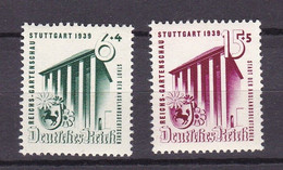 Germany - Reich 1933/1945 - 1939 Year _ Michel 692/693 - MNH - 20 Euro - Unused Stamps
