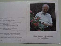 Doodsprentje/Bidprentje  Joseph M.GHEYSEN  Ereleraar K.A.Ieper ... Aarsele 1924-1999 Ieper (Echtg M-L GRYPDONCK) - Religione & Esoterismo
