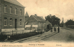 Steenweg Op Oostmalle Hoelen 1918 - Zoersel