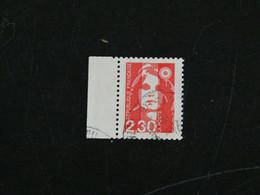 FRANCE YT 2614 OBLITERE - MARIANNE BRIAT DU BICENTENAIRE BORD DE FEUILLE - 1989-96 Bicentenial Marianne