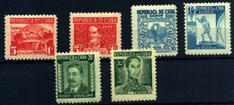 Cuba (Aéreo) Nº 24/29. Año 1937 - Poste Aérienne
