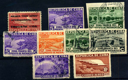 Cuba (Aéreo) Nº 16/23, 16s, 190 Año 1935/36 - Poste Aérienne
