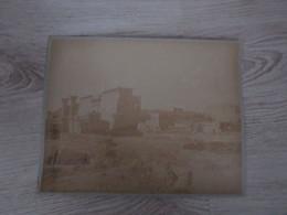PHOTO ANCIENNE  28 X22 - EGYPTE -médinet-abou Vue Gle Des Temples ToutinetII Et Ramses III-photo LEKEKEJIAN Sur Carton ) - Oud (voor 1900)