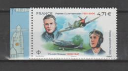 FRANCE / 2021 / Y&T PA N° 85a ** : Pierre Clostermann & Claire Romain (du Feuillet De 10 TP) X 1 BdF D - 1960-.... Neufs