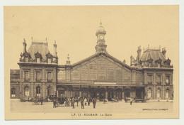 ROUBAIX - La Gare - Calèche - Charrette à Main - Très Animée - Roubaix