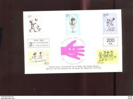 Belgie Erinno E132 Stamp On Stamp Children's Games  OCB 25€ RR - Commemorative Labels