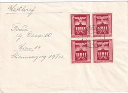 ALLEMAGNE 1943 LETTRE DE WIEN - Briefe U. Dokumente