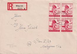 ALLEMAGNE 1944 LETTRE RECOMMANDEE DE WIEN - Briefe U. Dokumente