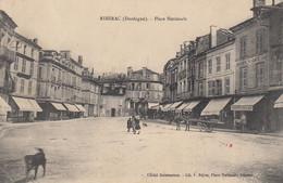 Ribérac.  Place Nationale - Riberac