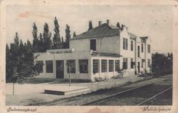 2097/ Balatonszarszo, Wollak Penzio, Treinrails? Station? - Hungary