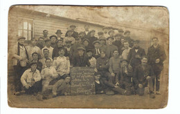 Belgische Soldaten In Nunspeet  1914-15  Opvangkamp Voor Belgische Vluchtelingen (kaart Vertoont Slijtage,zie Scan) - War 1914-18