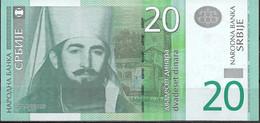 SERBIA  UNC  20 DINARA  2006  PREFIX AG  P47A - Serbia