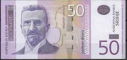 SERBIA  UNC  50 DINARA  2005  PREFIX AA  P40A - Serbia