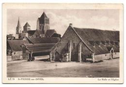 St-Pierre-sur-Dives - La Halle Et L'Eglise - Ohne Zuordnung