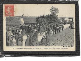 45-ORLEANS-Défilé Des Ançiens Combattants Pour L'Anniversaire Du COMBAT Du 11 Octobre 1870 - Orleans