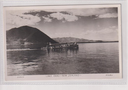 NEW ZEALAND - Boat On Lake Ohau RPPC - Nueva Zelanda