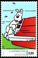 Timbre Privé** - Tintin/Kuifje - Milou/Bobbie - L'Île Noire / De Zwarte Rotsen - La Jaguar MKX Du Docteur Müller (p.8) - Autres
