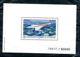 Feuillet Spécial Yvert PA 83 - Concorde - Sous Blister - Lot 345 - Otros