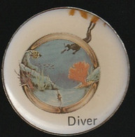 72331-Pin's-Diver.Plongée Sous Marine. - Immersione