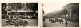 LIBERATION DE PARIS . PHOTOS D'AMATEUR - Guerra, Militares